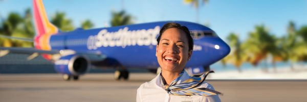 First Southwest Airlines Cuba Flight Lands