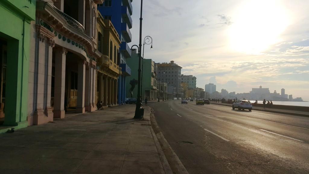 Irma Effects on the Malecon, Havana